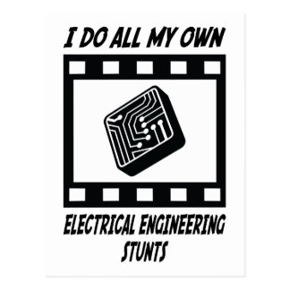Electrical Engineering Stunts Postcards