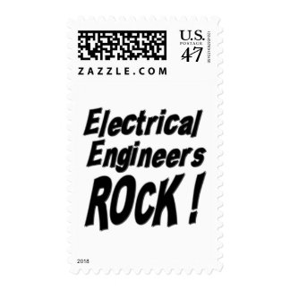 Electrical Engineers Rock ! Postage Stamp