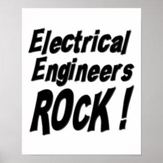 Electrical Engineers Rock! Poster Print