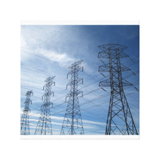 Electrical Giants Canvas Print