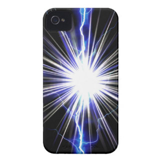 Electrical Lightning Star Burst iPhone 4 Case-Mate Cases