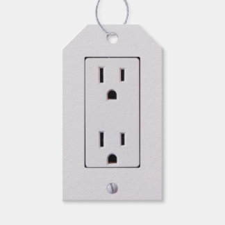 Electrical Outlet #2 Gift Tags