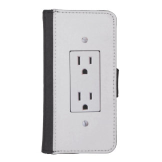 Electrical Outlet #2 iPhone 5 Wallet Case
