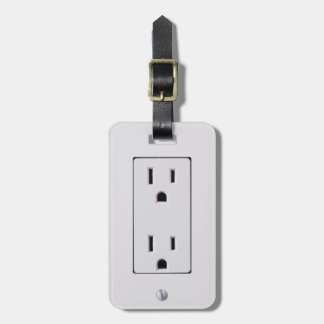 Electrical Outlet #2 Luggage Tag