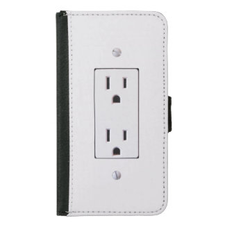Electrical Outlet #2 Wallet Phone Case For Samsung Galaxy S5
