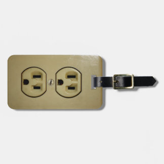Electrical Outlet Bag Tag