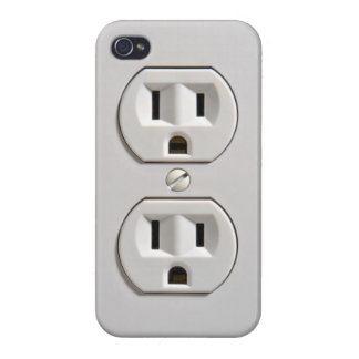 Electrical Outlet Cases For iPhone 4