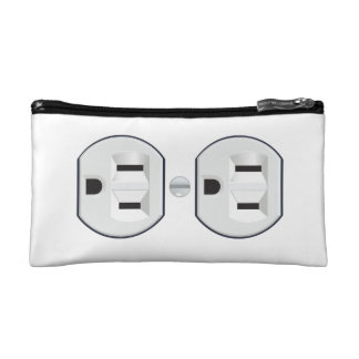 Electrical Outlet Cosmetic Bag
