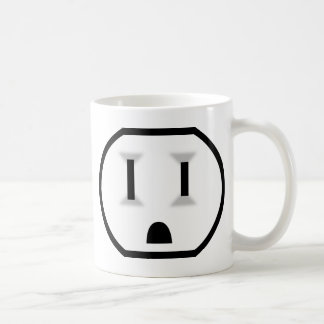 Electrical Outlet (I Don't Run Off Of Coffee?!) Coffee Mug