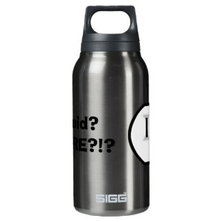 Electrical Outlet (Liquid? Where?!) Insulated Water Bottle