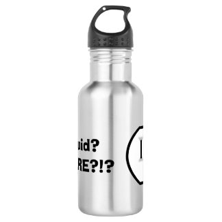 Electrical Outlet (Liquid? Where?!) Water Bottle