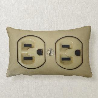 Electrical Outlet Lumbar Pillow