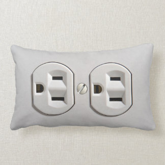 Electrical Outlet Plug in Pillow