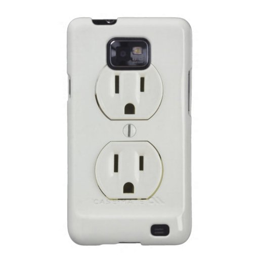 Electrical Outlet Samsung Galaxy S Case Galaxy S2 Covers