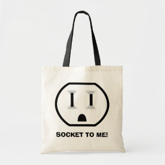 Electrical Outlet (Socket To Me) Tote Bag