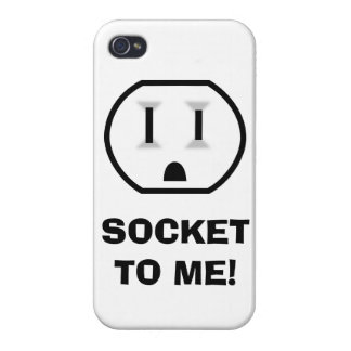 Electrical Outlet (Socket To Me) iPhone 4/4S Cases