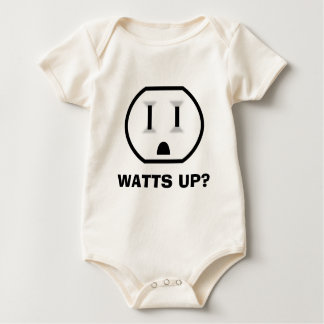 Electrical Outlet (Watts Up?) Baby Bodysuit