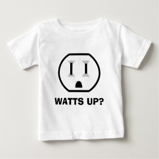Electrical Outlet (Watts Up?) Baby T-Shirt