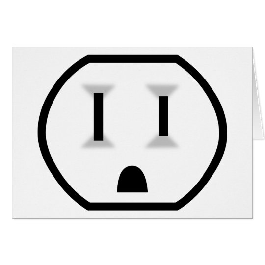 Electrical Outlet (Watts Up?) Card