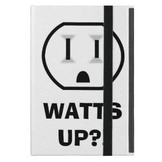 Electrical Outlet (Watts Up?!) Cases For iPad Mini