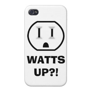 Electrical Outlet (Watts Up?!) iPhone 4 Covers