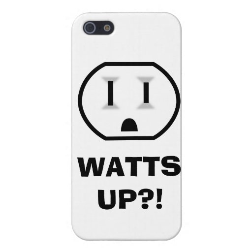 Electrical Outlet (Watts Up?!) iPhone SE/5/5s Cover