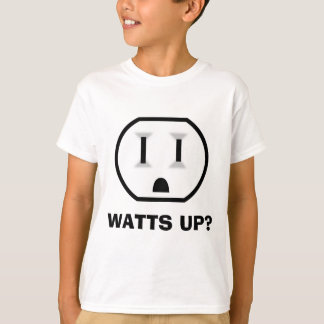 Electrical Outlet (Watts Up?) T-Shirt