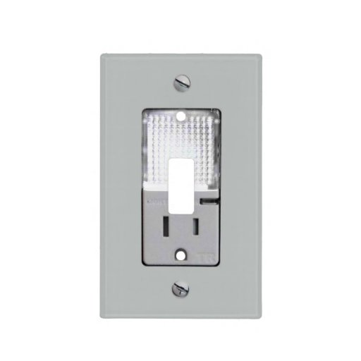 Light switch covers led wanker for Electrical outlet covers
