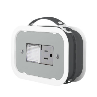Electrical Outlet with Night Light Lunch Box