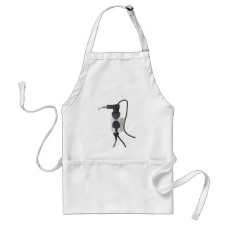 Electrical overload adult apron