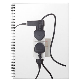 Electrical overload notebook