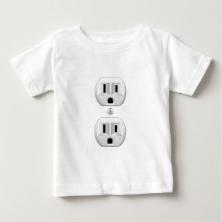 Electrical Plug Click to Customize Color Decor Baby T-Shirt