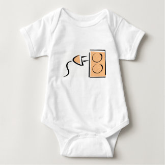 Electrical Plug Outlet Baby Bodysuit