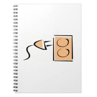 Electrical Plug Outlet Note Book