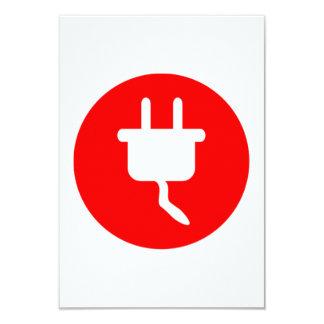 Electrical Plug Sign Custom Invite