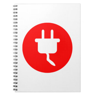 Electrical Plug Sign Journals
