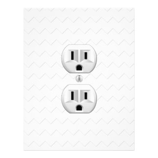 Electrical Plug Wall Outlet Fun Customize This Flyer
