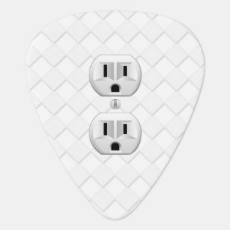 Electrical Plug Wall Outlet Fun Customize This Guitar Pick