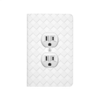 Electrical Plug Wall Outlet Fun Customize This Journal
