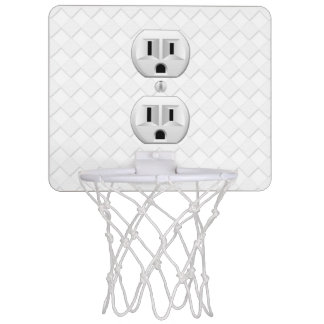 Electrical Plug Wall Outlet Fun Customize This Mini Basketball Hoop