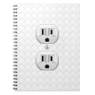 Electrical Plug Wall Outlet Fun Customize This Notebook