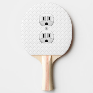 Electrical Plug Wall Outlet Fun Customize This Ping-Pong Paddle