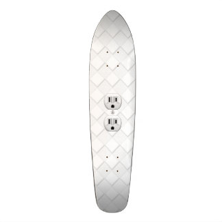 Electrical Plug Wall Outlet Fun Customize This Skate Board Decks
