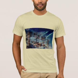 Electrical power substation T-Shirt