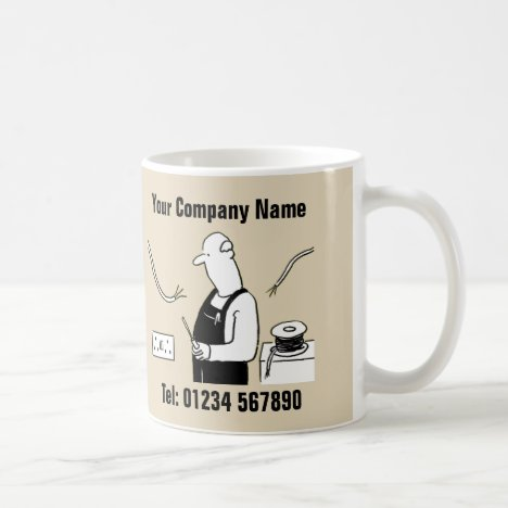 Electrical Services Cartoon Mug