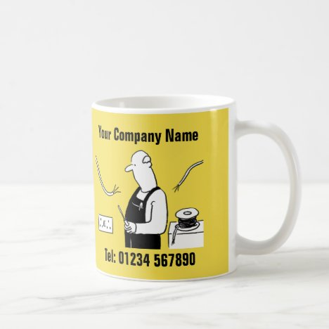 Electrical Services Cartoon Mug