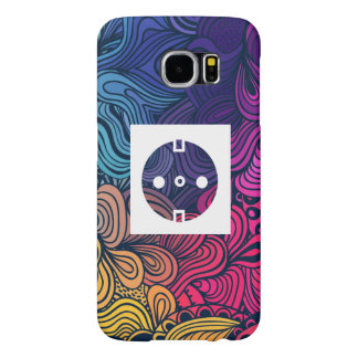 Electrical Sockets Pictograph Samsung Galaxy S6 Cases