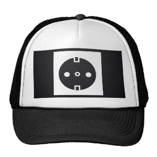 Electrical Sockets Pictograph Trucker Hat