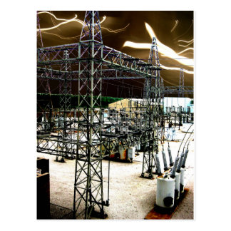 Electrical Surge Postcard