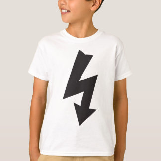 Electrical Symbol thunder Electricity T-Shirt